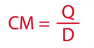 Fórmula para consumo médio